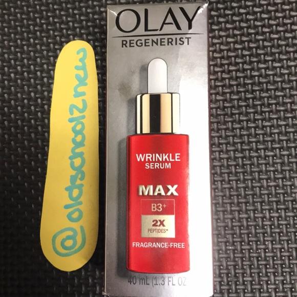 OLAY Regenerist MAX B3 2Xpeptides wrinkle serum